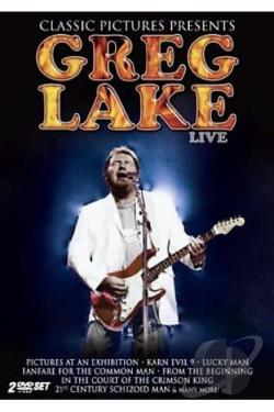 Greg Lake - In Concert DVD Cover Art