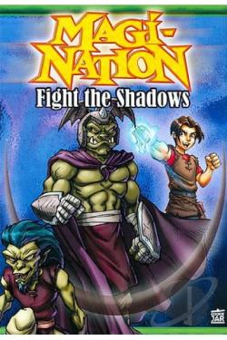 Magi-Nation - Fight the Shadows DVD Cover Art