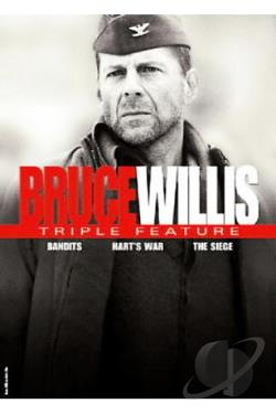 Bruce Willis - Triple Feature DVD Cover Art