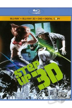Step Up 3D BRAY Cover Art