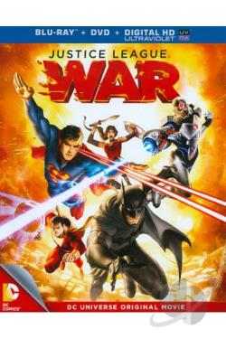 Justice League: War BRAY Cover Art