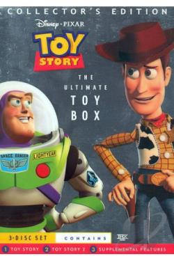 Toy Story/Toy Story 2 (3-Disc Ultimate Toy Box Collector's Edition) DVD Cover Art