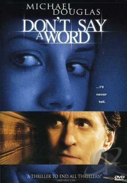 Don't Say a Word DVD Cover Art