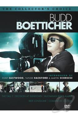 Films of Budd Boetticher DVD Cover Art