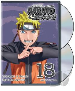 Naruto: Shippuden - Box Set 18 DVD Cover Art
