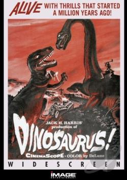 Dinosaurus! DVD Cover Art
