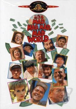 It's a Mad, Mad, Mad, Mad World DVD Cover Art