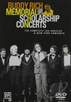 Buddy Rich Memorial Scholarship Concerts DVD Cover Art