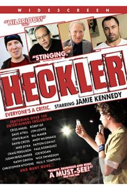 Heckler DVD Cover Art