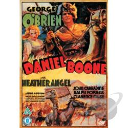 Daniel Boone DVD Cover Art