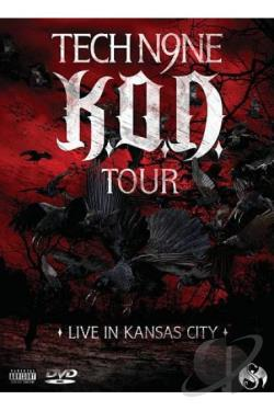 Tech N9ne: K.O.D. Tour - Live in Kansas City DVD Cover Art