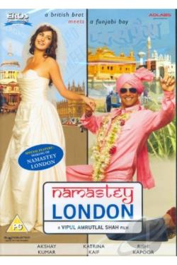 Namastey London DVD Cover Art