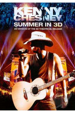 Kenny Chesney: Summer in 3D DVD Cover Art