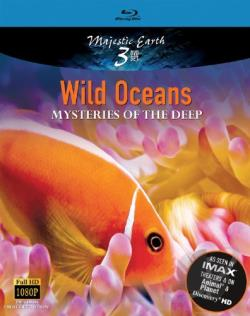 Majestic Earth: Wild Oceans - Mysteries of the Deep BRAY Cover Art