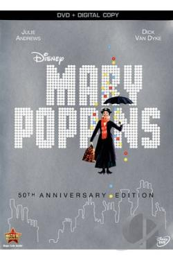 Mary Poppins DVD Cover Art