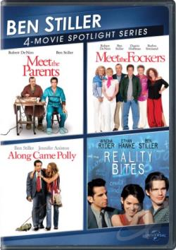Ben Stiller: 4-Movie Spotlight Series DVD Cover Art