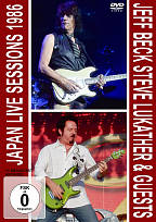 Jeff Beck/Steve Lukather & Guests - Japan Live Sessions 1986 DVD Cover Art