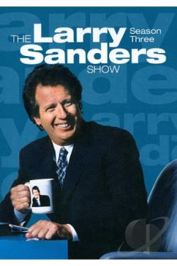 Larry Sanders Show: Season Three DVD Cover Art