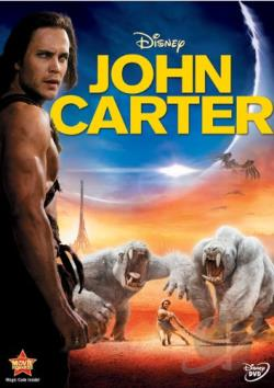 John Carter DVD Cover Art