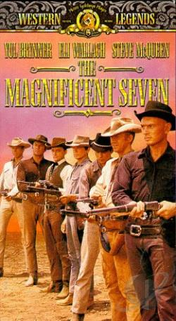 Magnificent Seven VHS Cover Art