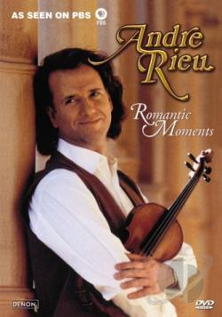 Andre Rieu - Romantic Moments DVD Cover Art