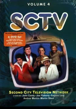 SCTV - Vol. 4 DVD Cover Art