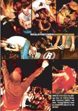 Rivalry Records Showcase 2006 DVD Cover Art