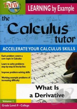 Calculus Tutor: What is a Derivative? DVD Cover Art