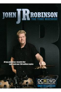 John JR Robinson: The Time Machine DVD Cover Art