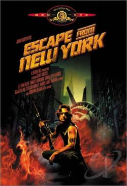 Escape from New York DVD Cover Art