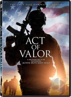Act of Valor DVD Cover Art