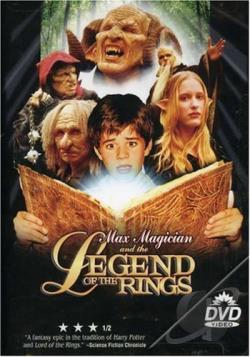Max Magician and the Legend of the Rings DVD Cover Art