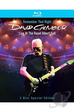 David Gilmour - Remember That Night - Live at the Royal Albert Hall BRAY Cover Art