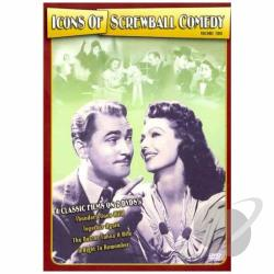 Icons of Screwball Comedy - Vol. 2 DVD Cover Art