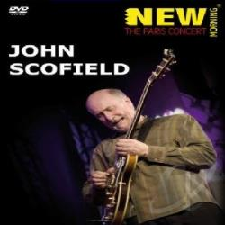 John Scofield:Paris Concert DVD Cover Art
