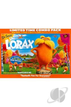 Dr. Seuss' The Lorax DVD Cover Art