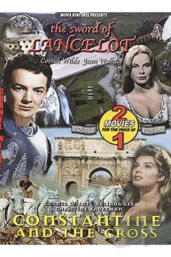 Sword Of Lancelot/Constantine And The Cross DVD Cover Art