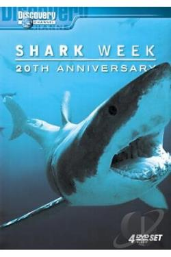 Shark Week - 20th Anniversary DVD Cover Art