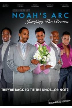 Noah's Arc: Jumping the Broom DVD Cover Art