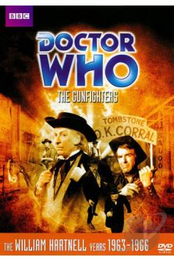 Doctor Who: The Gunfighters DVD Cover Art