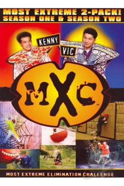 MXC - Most Extreme Challenge - Season One and Season Two DVD Cover Art