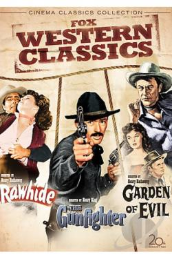 Cinema Classics Collection - Rawhide/The Gunfighter/The Garden of Evil DVD Cover Art