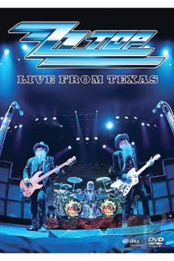 ZZ Top - Live From Texas DVD Cover Art