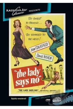 Lady Says No DVD Cover Art