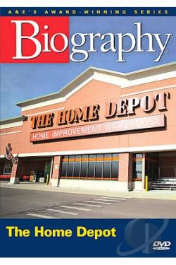 biography the home depot dvd movie