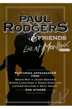 Paul Rodgers & Friends: Live at Montreux 1994 DVD Cover Art