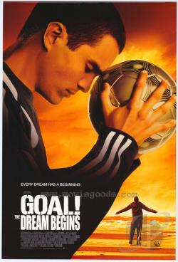 Goal! The Dream Begins DVD Cover Art