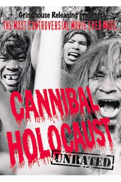 Cannibal Holocaust DVD Cover Art