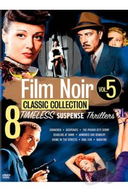 Film Noir Classics Collection, Vol. 5 DVD Cover Art