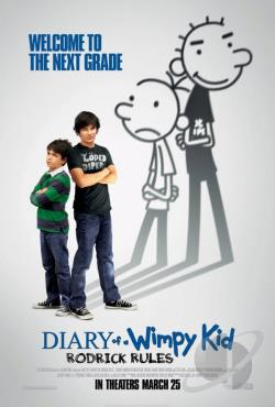 Diary of a Wimpy Kid: Rodrick Rules DVD Cover Art